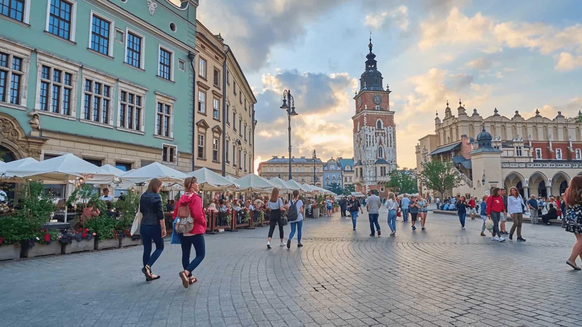 Study in krakow