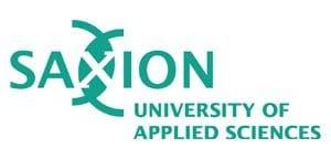 Saxion university of applied sciences  Program Erasmus + Saxion logo 500x250 300x144