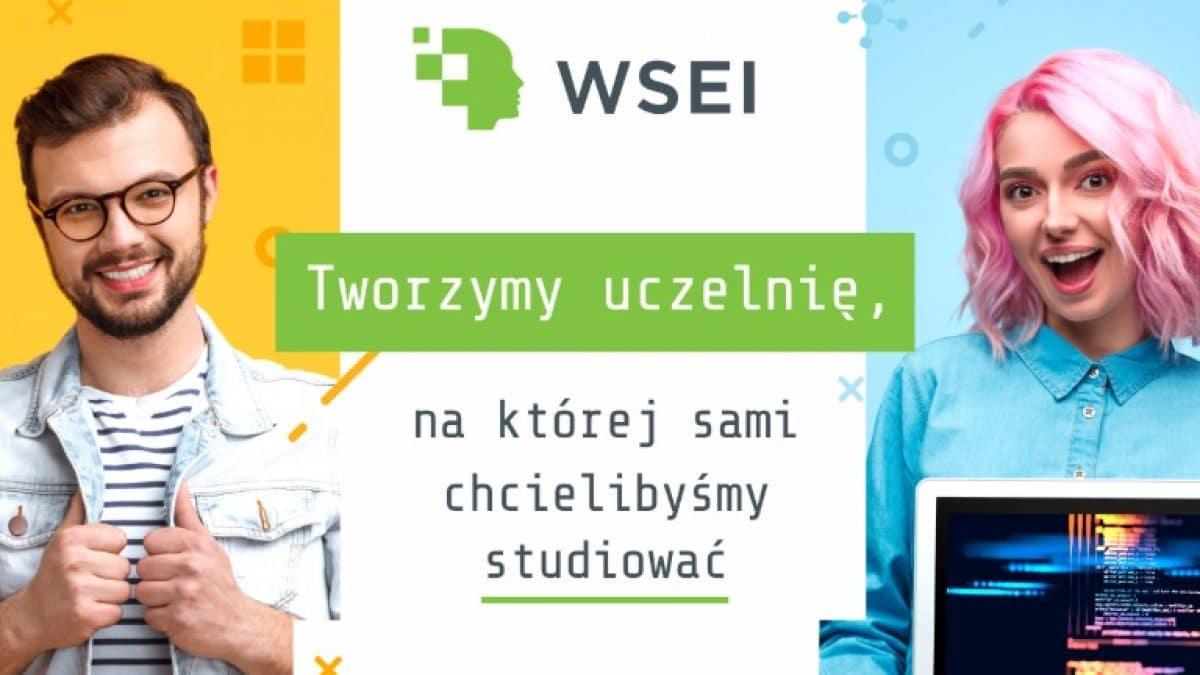 rekrutacja na WSEI  Startujemy z rekrutacją! small rekrutacja 1200x675