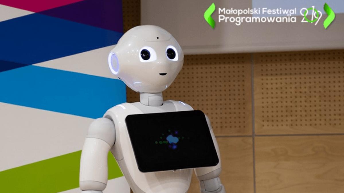 małopolski festiwal programowania  W czym zastąpią nas roboty i sztuczna inteligencja? WSEI na konferencji. malopolski festiwal programowania 1200x675