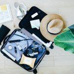 walizka z ubraniami