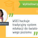 Wykładowcy o WSEI Lucyna Szaszkiewicz