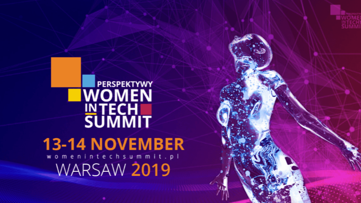 perspektywy women in tech summit Warszawa  Women in tech Summit, Warszawa 2019 Home Perspektywy Women in Tech Summit 2019 1 1200x675