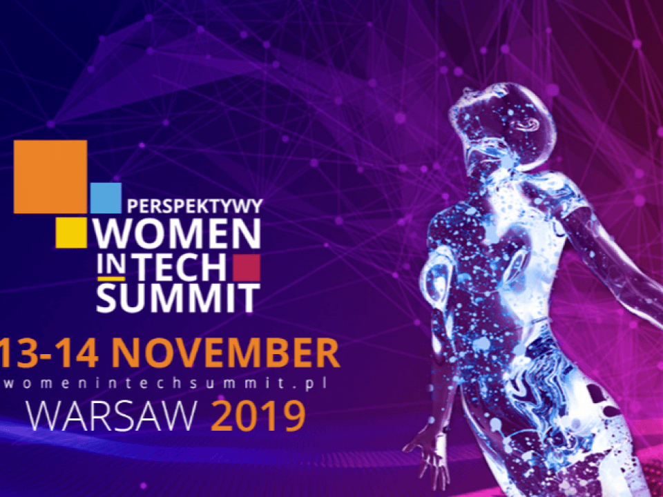 perspektywy women in tech summit Warszawa  Women in tech Summit, Warszawa 2019 Home Perspektywy Women in Tech Summit 2019 1 960x720
