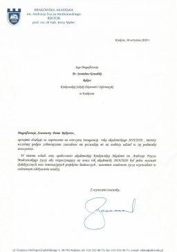 Akademia Frycza Modrzejewskiego zaproszenie na inaugurację roku wsei