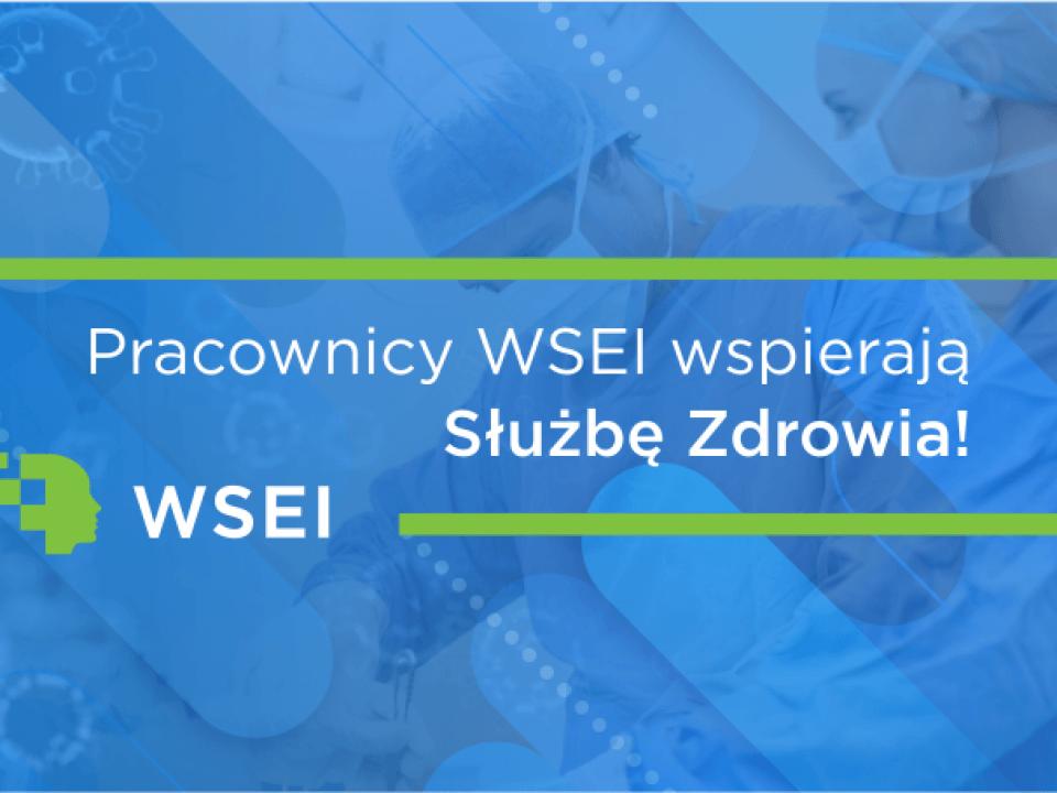 Pracownicy WSEI włączają się w akcję #WzywamyPosiłki wsei pracownicy wsei wspieraja lekarzy plansza www 1 960x720